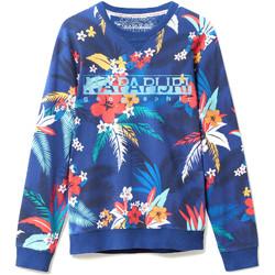 Oblečenie Muži Mikiny Napapijri N0YIF8 Modrá