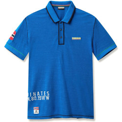 Oblečenie Muži Polokošele s krátkym rukávom Napapijri N0YIG0 Modrá