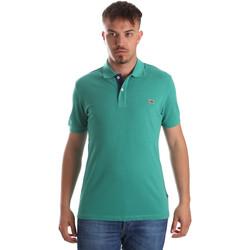 Oblečenie Muži Polokošele s krátkym rukávom Napapijri N0YIJJ Zelená