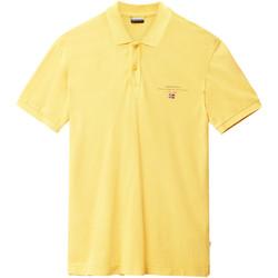 Oblečenie Muži Polokošele s krátkym rukávom Napapijri N0YIJ5 žltá