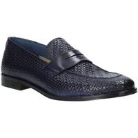Topánky Muži Mokasíny Rogers 1012_3 Modrá