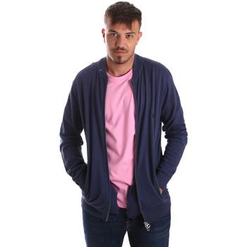 Oblečenie Muži Cardigany U.S Polo Assn. 51727 51433 Modrá