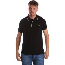 Oblečenie Muži Polokošele s krátkym rukávom U.S Polo Assn. 50336 51263 čierna