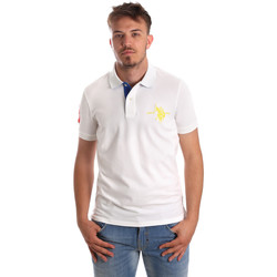 Oblečenie Muži Polokošele s krátkym rukávom U.S Polo Assn. 50336 51267 Biely
