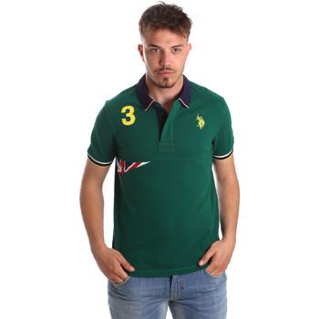 Oblečenie Muži Polokošele s krátkym rukávom U.S Polo Assn. 41029 51252 Zelená