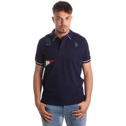 Oblečenie Muži Polokošele s krátkym rukávom U.S Polo Assn. 41029 51252 Modrá