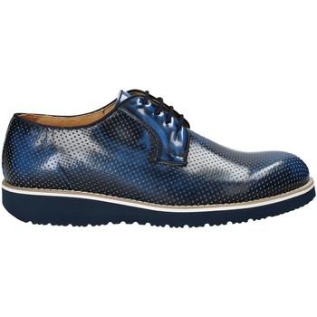 Topánky Muži Derbie Exton 5103 Modrá