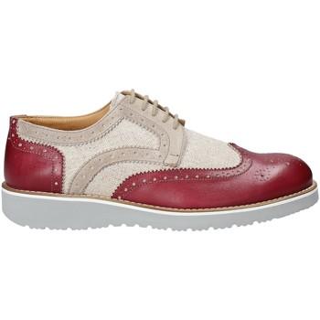 Topánky Muži Derbie Exton 5105 Červená