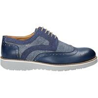 Topánky Muži Derbie Exton 5105 Modrá