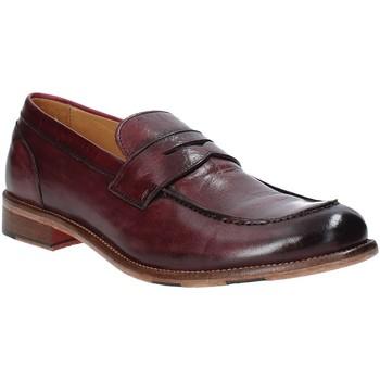 Topánky Muži Mokasíny Exton 3106 Červená