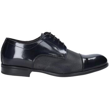 Topánky Muži Derbie Exton 1385 Modrá
