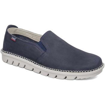 Topánky Muži Slip-on CallagHan 14503 Modrá
