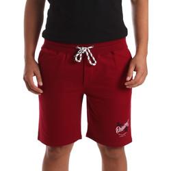 Oblečenie Muži Šortky a bermudy Key Up 2F26I 0001 Červená