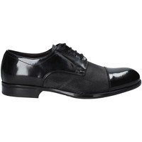 Topánky Muži Derbie Exton 1385 čierna