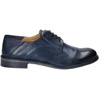Topánky Muži Derbie Exton 3101 Modrá