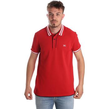 Oblečenie Muži Polokošele s krátkym rukávom NeroGiardini P972210U Červená