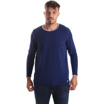 Oblečenie Muži Svetre Byblos Blu 2MM0004 MA0002 Modrá