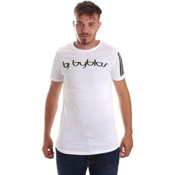 Oblečenie Muži Tričká s krátkym rukávom Byblos Blu 2MT0016 TE0046 Biely