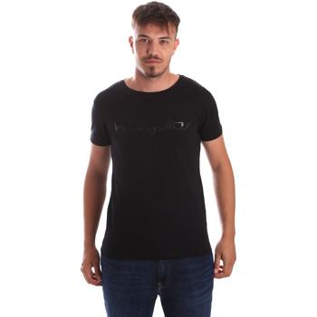 Oblečenie Muži Tričká s krátkym rukávom Byblos Blu 2MT0023 TE0048 čierna
