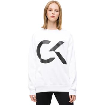 Oblečenie Ženy Mikiny Calvin Klein Jeans 00GWH8W353 Biely