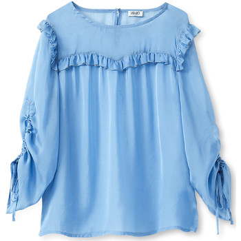 Oblečenie Ženy Blúzky Liu Jo W19292T5339 Modrá