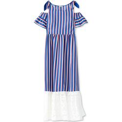Oblečenie Ženy Dlhé šaty Liu Jo F19228T2311 Modrá