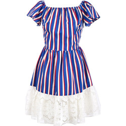 Oblečenie Ženy Krátke šaty Liu Jo F19384T2311 Modrá