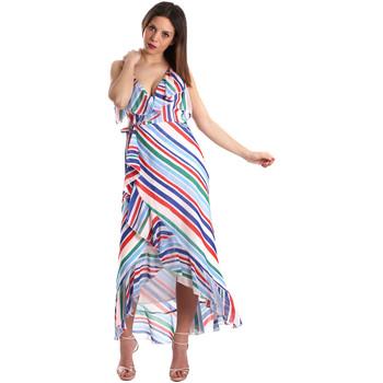 Oblečenie Ženy Dlhé šaty Fracomina FR19SP594 Biely