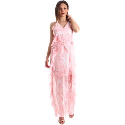 Oblečenie Ženy Dlhé šaty Fracomina FR19SP429 Ružová
