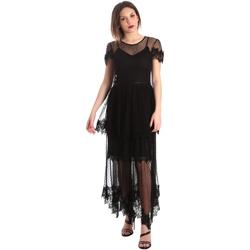 Oblečenie Ženy Dlhé šaty Fracomina FR19SP364 čierna