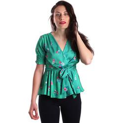 Oblečenie Ženy Blúzky Fracomina FR19SP474 Zelená