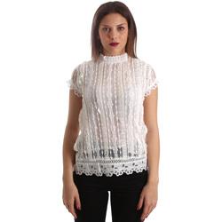 Oblečenie Ženy Blúzky Fracomina FR19SP521 Biely