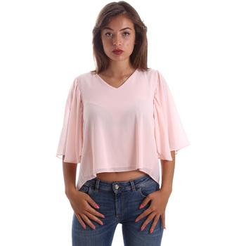 Oblečenie Ženy Blúzky Fracomina FR19SP468 Ružová