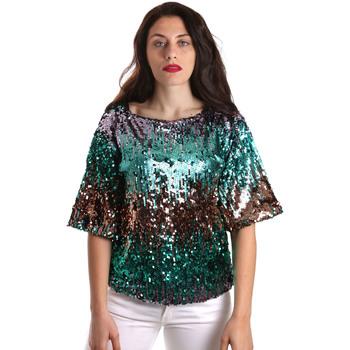 Oblečenie Ženy Blúzky Fracomina FR19SP525 Zelená