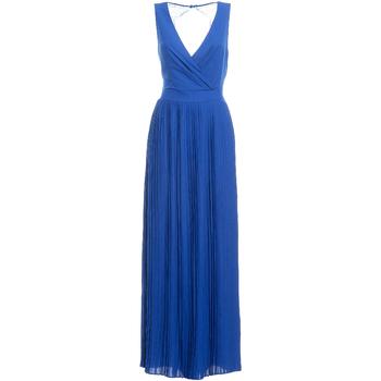 Oblečenie Ženy Dlhé šaty Fracomina FR19SM673 Modrá