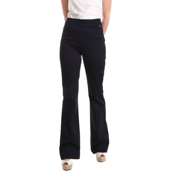 Oblečenie Ženy Padavé nohavice Fracomina FR19SM617 Modrá