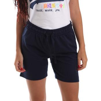 Oblečenie Ženy Šortky a bermudy Key Up 5F59G 0001 Modrá