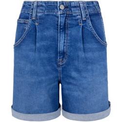 Oblečenie Ženy Šortky a bermudy Pepe jeans PL800846GQ6 Modrá