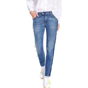 Oblečenie Ženy Rifle Slim  Byblos Blu 2WJ0004 TE0135 Modrá