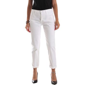 Oblečenie Ženy Rifle Slim  Byblos Blu 2WJ0011 TE0128 Biely