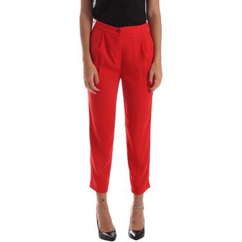 Oblečenie Ženy Nohavice Chinos a Carrot Byblos Blu 2WP0002 TE0012 Červená