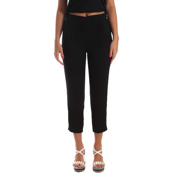 Oblečenie Ženy Nohavice Chinos a Carrot Byblos Blu 2WP0002 TE0012 čierna
