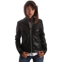 Oblečenie Ženy Kožené bundy a syntetické bundy Byblos Blu 2WS0009 TE0060 čierna