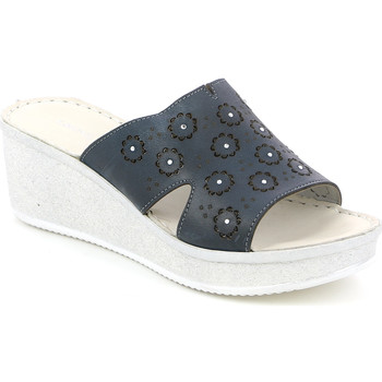 Topánky Ženy Šľapky Grunland CI1561 Modrá