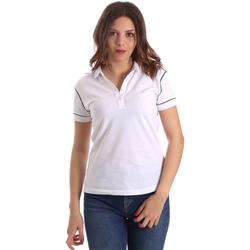 Oblečenie Ženy Polokošele s krátkym rukávom La Martina NWP002 PK001 Biely