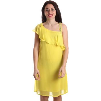 Oblečenie Ženy Krátke šaty Gaudi 911FD15011 žltá