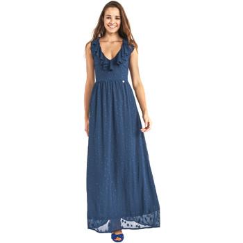 Oblečenie Ženy Dlhé šaty Gaudi 911BD15007 Modrá