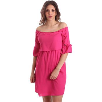 Oblečenie Ženy Krátke šaty Gaudi 911BD15015 Ružová