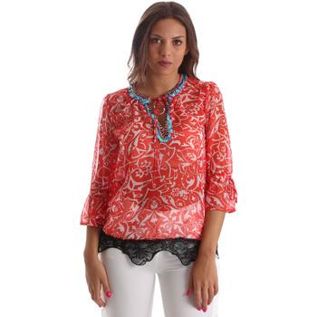 Oblečenie Ženy Blúzky Gaudi 911BD45013 Červená