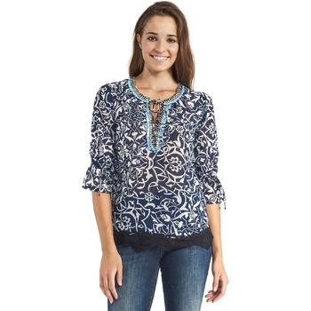 Oblečenie Ženy Blúzky Gaudi 911BD45013 Modrá